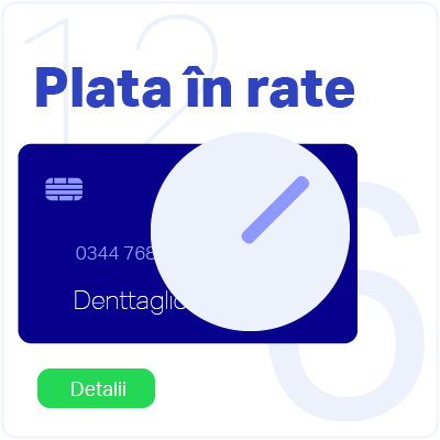Plata in rate